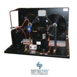 Unità condensatrice ad aria compressore Tecumseh-Europe FH 4531Z con doppia ventola