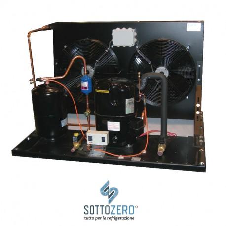 Unità condensatrice ad aria compressore Tecumseh-Europe TAG2516Z con doppia ventola