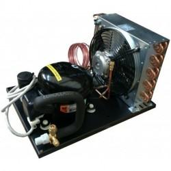 Unità condensatrice ad aria compressore NEK6210GK Tropicalizzata a capillare