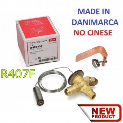 VALVOLA DI ESPANSIONE TERMOSTATICA DANFOSS T2 R407F/R407A SAE