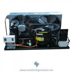 Unità condensatrice ad aria compressore SC18MLX a valvola con doppia ventola