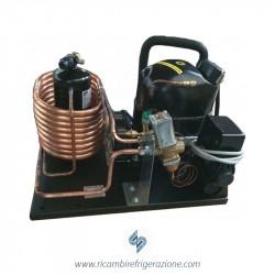 Unità condensatrice mista ad aria e acqua compressore NB6181GK a valvola